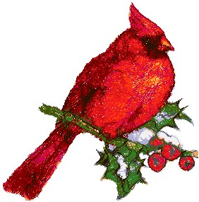 Advanced Embroidery Designs Cardinal