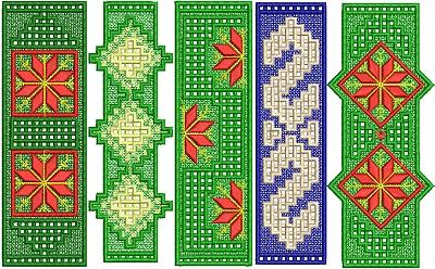FSL Christmas Bookmark Set