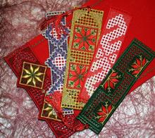 FSL Christmas Bookmark Set