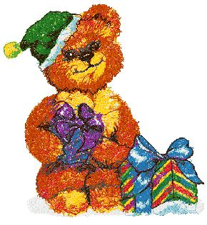 Little Bear with Gifts