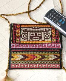 Southwestern Indian Motif Purse Set