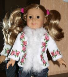 Rose Jacket for 18-in. Doll