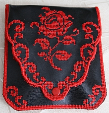 Elegant Rose Purse