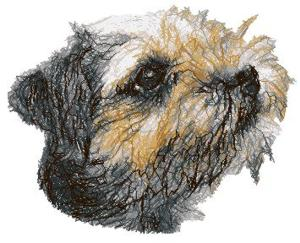 Advanced Embroidery Designs  Border Terrier