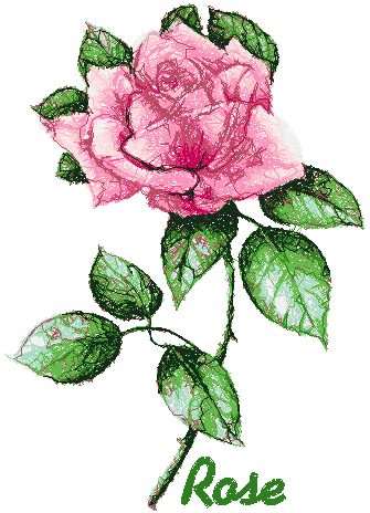 Advanced Embroidery Designs  Garden Flower Series Rose