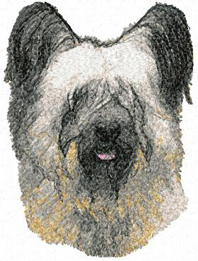 Advanced Embroidery Designs Skye Terrier