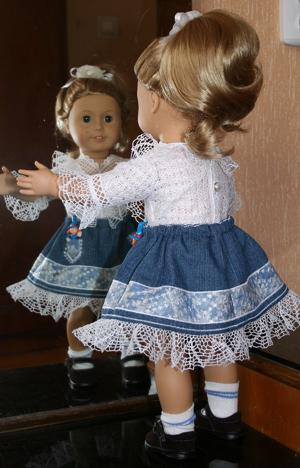 Skirt in the Hoop for 18-inch Dolls