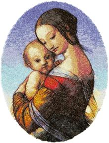 Madonna and Child by William Dyce