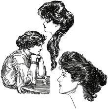 Gibson Girl Set II