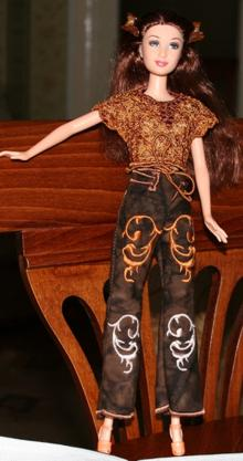 Pants for 12-in Dolls