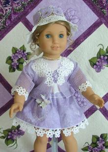 Forget-Me-Not Outfit for 18-in. Dolls