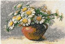 Jug with Daisies