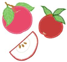 Apple Applique Set
