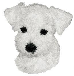 Schnauzer Embroidery Ornaments Design