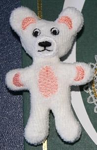 Miniature Teddy Bear In-the-Hoop