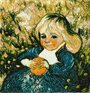 Child with Orange by Vincent van Gogh