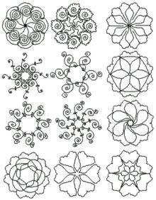 Quilting Bee Redwork Patterns : QUILT BORDER PATTERNS DESIGNS My Quilt Pattern