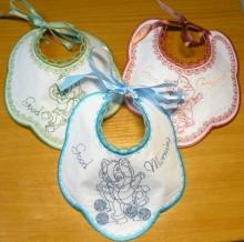 Baby Bib In-the-Hoop Set