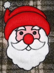 Santa Claus Applique