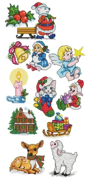 Christmas Miniatures Set I