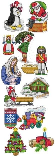 Christmas Miniatures Set II