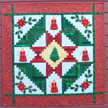 Christmas Quilt Applique Set