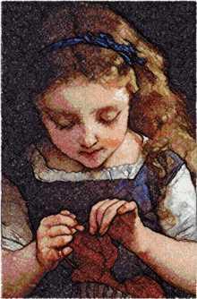 A Careful Stitch by Emile Munier machine embroidery designs