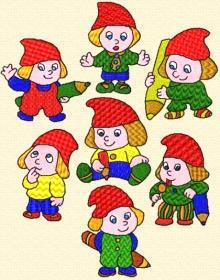 Little Gnome Set