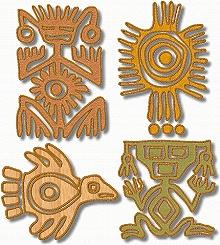 Southwestern Motif Applique Set