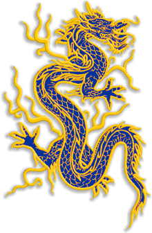 Oriental Dragon Applique