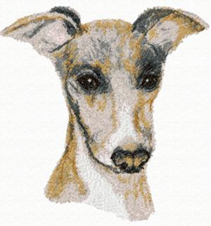 Advanced Embroidery Designs - Italian Greyhound