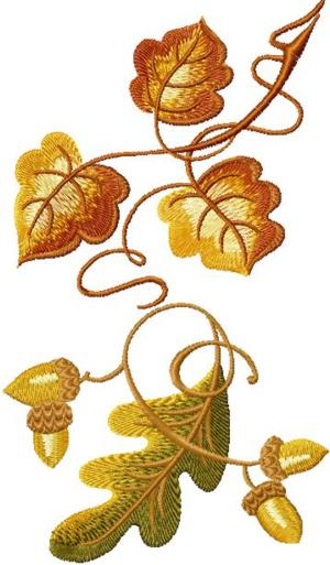 Autumn Decorative Leaves Set