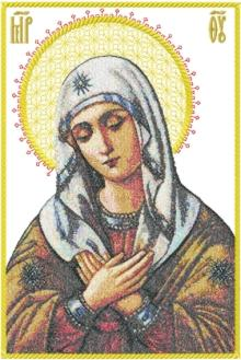 Orthodox Icon Holy Virgin Eleusa