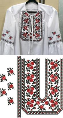 Folk Blouse Embellishment Set