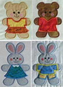 Cookie Cutter Applique Set