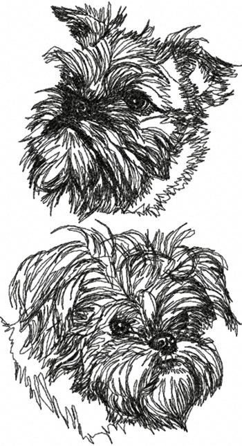 Brussels Griffon Set