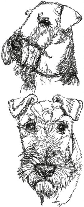 Airedale Terrier Set