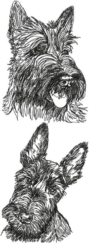 Crochet Pattern Scottish Terrier Crochet Club