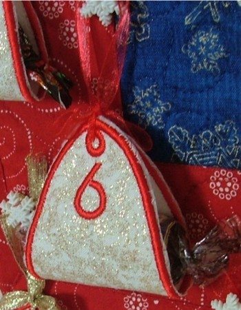 Advent Calendar Pouches
