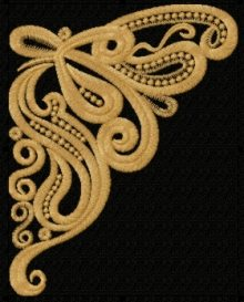 Neckline Embellishment Beauty Motif