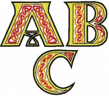 Advanced Embroidery De...W Letter Design