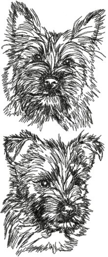 Cairn Terrier Set