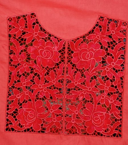 Advanced Embroidery Designs Cutwork Applique Lace Yoke