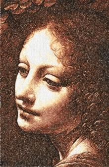 Head of an Angel by Leonardo da Vinci
