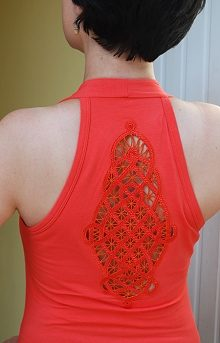 Celtic Cutwork Lace Insert