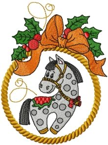 Little Horse Christmas Ornament