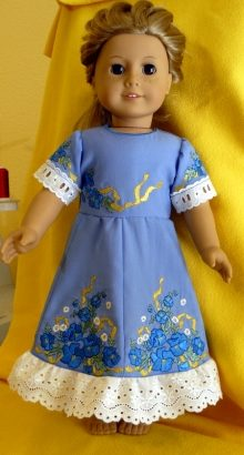 Flower Dress for 18-inch Dolls