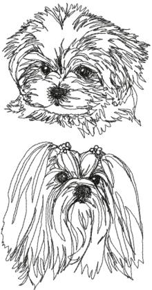 Maltese (Maltese Lion Dog) Set