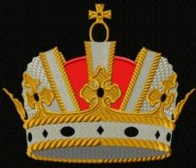 Imperial Crown Applique