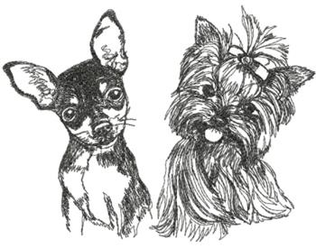 Your Pet Set (Toy Terrier and Yorki)